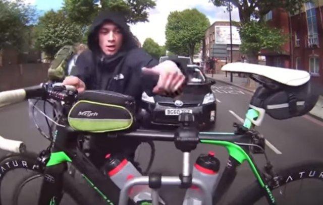 Велосипедный воришка-неудачник попался на камеру