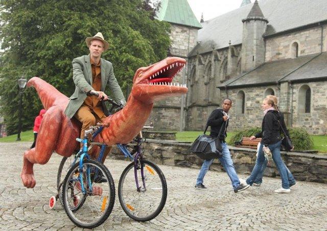 Думаете, что динозавры вымерли?