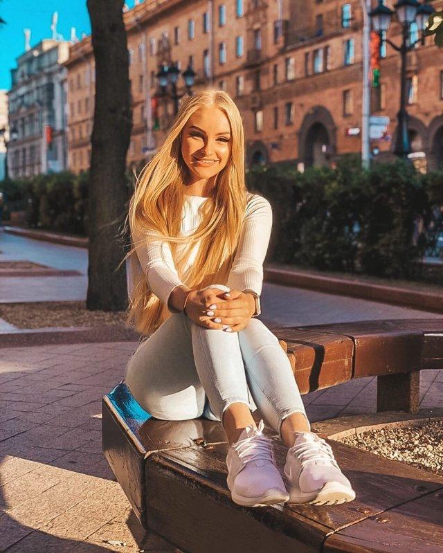 Каратистка из Клина Дарья Тулякова