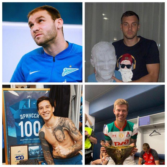 Зарплаты футболистов в российской премьер-лиге