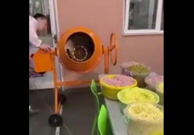 Промышленный способ производства оливье
