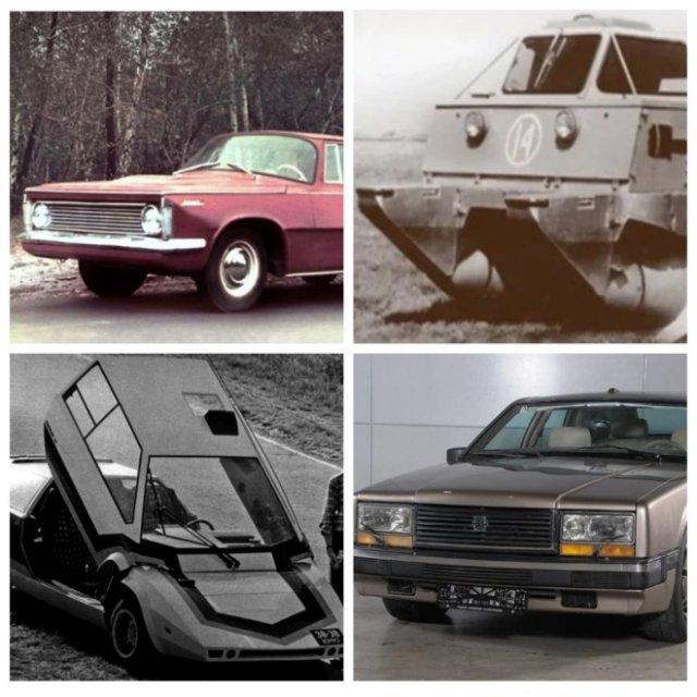 Самые необычные машины, созданные в СССР (5 фото)