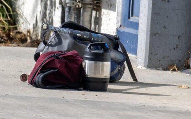 Немец нашел на улице рюкзак с ценными предметами