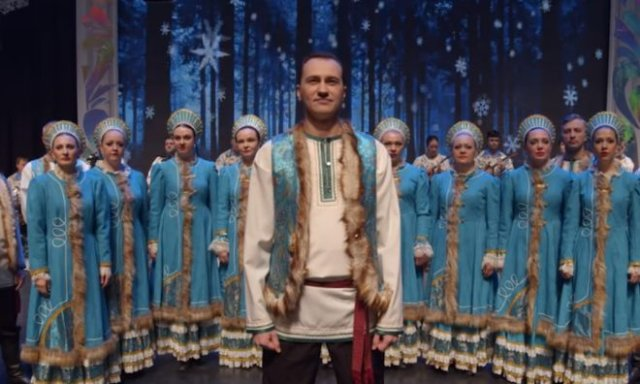 Омский хор исполнил песню Лютика из сериала