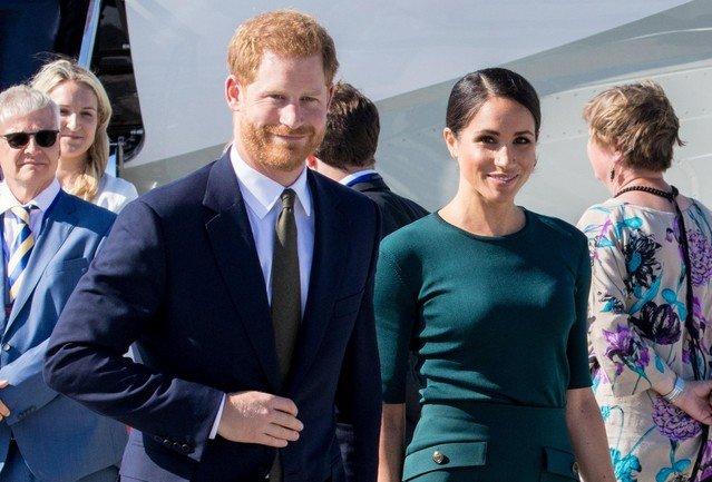 Меган Маркл и принц Гарри отказались от звания членов королевской семьи