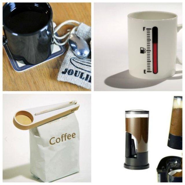 Приспособления для любителей кофе (10 фото)