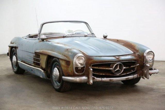 Ржавый Mercedes-Benz 300SL был продан за баснословные деньги