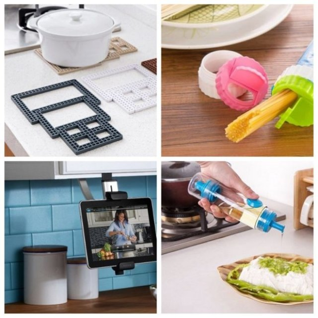 Необычные и функциональные приспособления для кухни (10 фото)