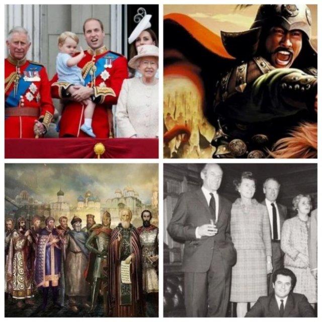 Самые влиятельные династии в истории (10 фото)