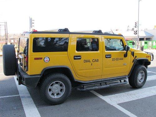 Такси на базе Hummer