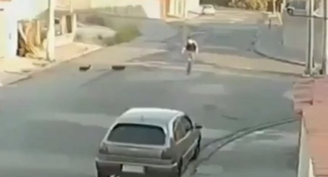 Авария из-за