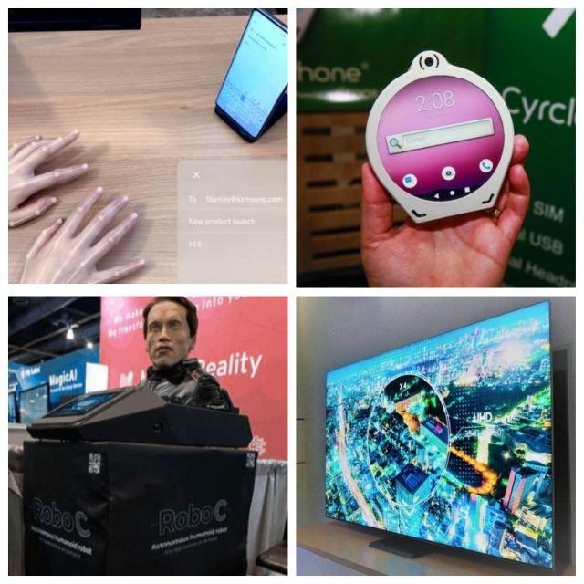 Подборка изобретений с ежегодной технологической выставки CES 2020 (10 фото)