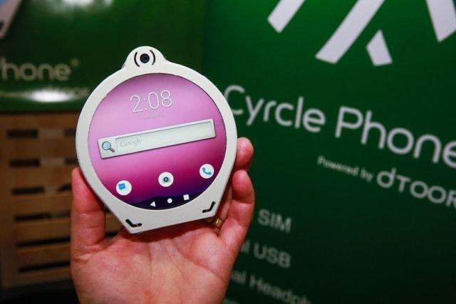 Круглый смартфон Cyrcle Phone