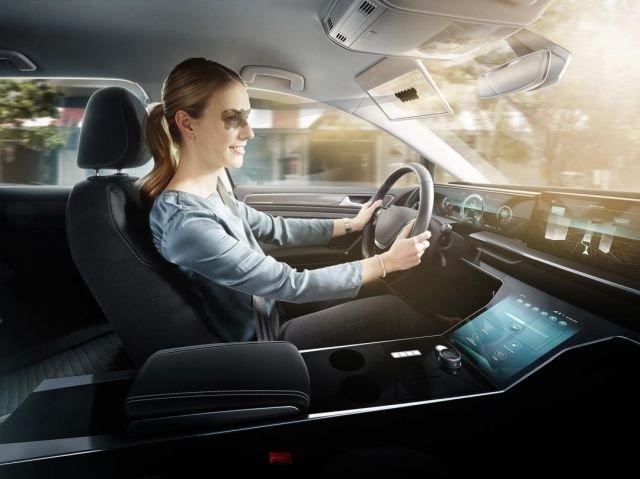Умный козырёк для водителей Bosch Virtual Visor