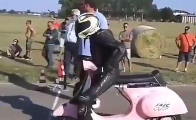 Бешеный скутер