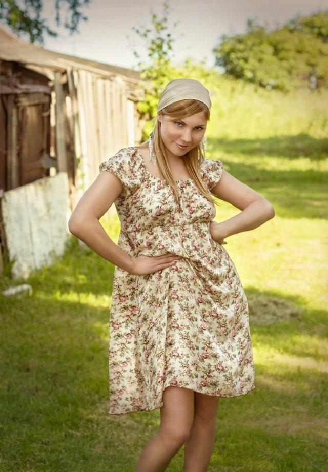 Красавицы из российских поселков и деревень