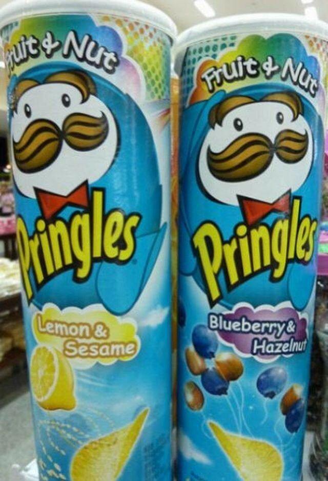 Странные продукты на полках американских магазинов