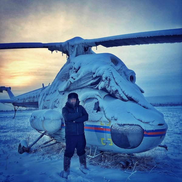 Подборка морозных фотографий из Якутии