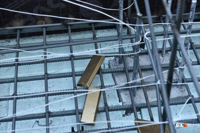При закладке фундамента нового автовокзала в котлован забросили золотые слитки