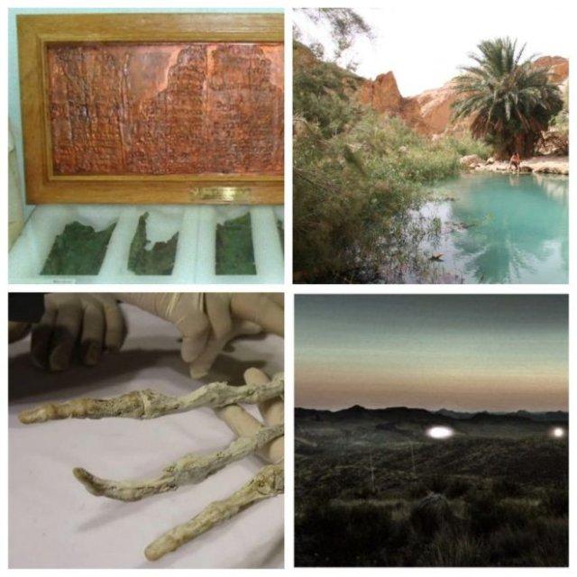 Археологические находки, поставившие ученых в тупик (7 фото)