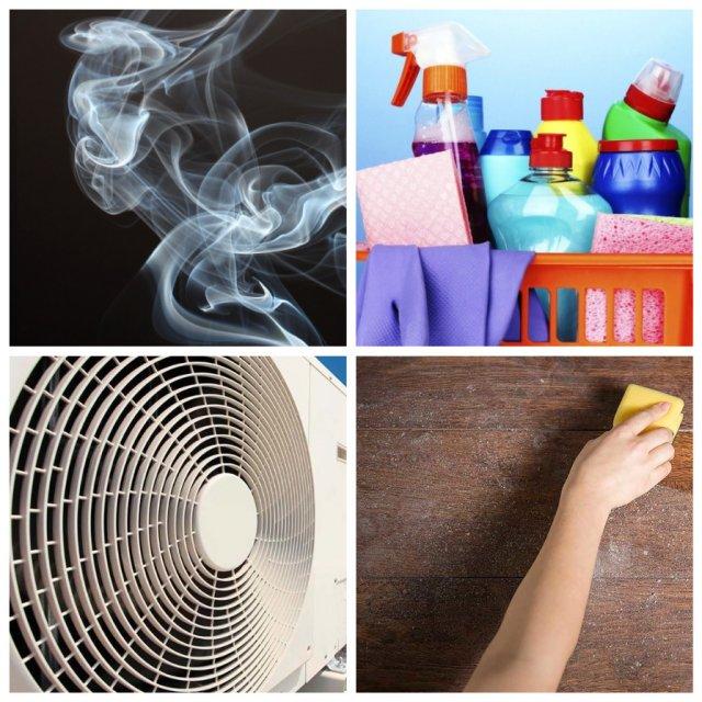 Вещи, которые загрязняют воздух в квартире (6 фото)