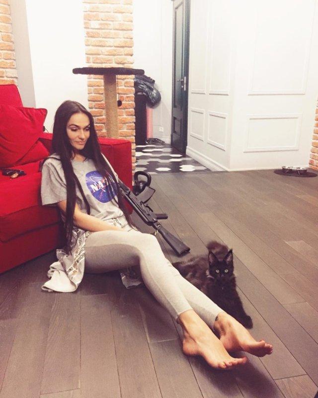 Квартира Алены Водонаевой, которая критикует материнский капитал