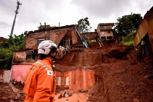 Последствия от аномальных ливней в Бразилии