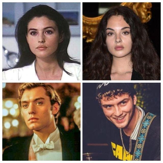 Знаменитости и их дети в одном возрасте (11 фото)