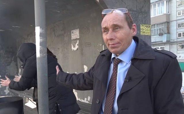 Виталий Наливкин пообещал горожанам отапливаемые остановки
