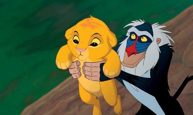 Знаменитая сцена из «Короля льва» в реальной жизни