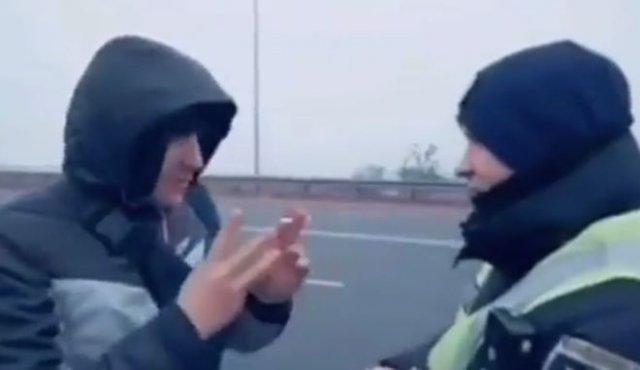 Рассказал сотруднику о трех видах полицейский