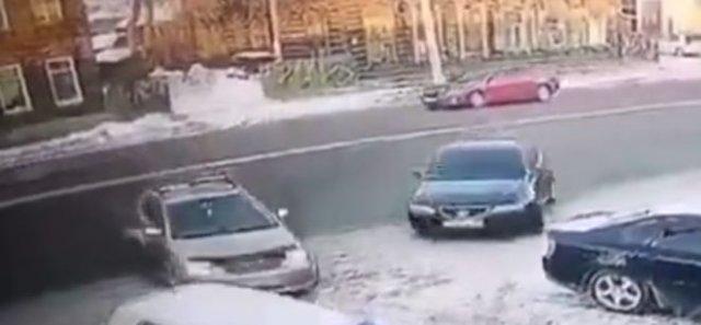 """Битва"" за парковочное место"