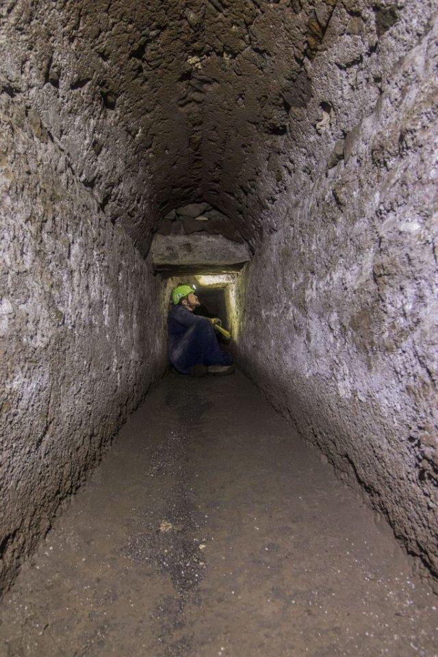 Под Помпеями нашли сеть древних тоннелей