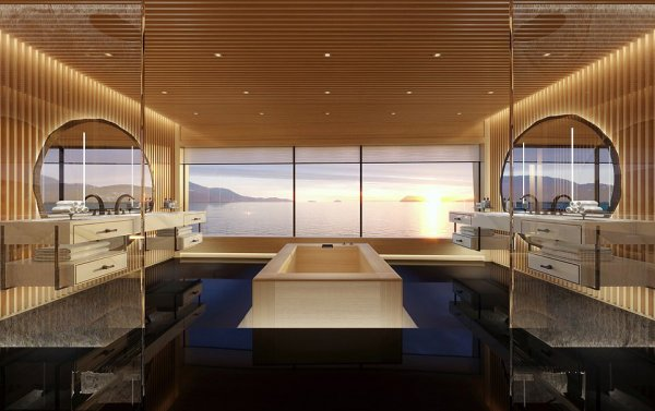 Билл Гейтс покупает экологичную яхту, работающую на жидком водороде, за 645 миллионов долларов