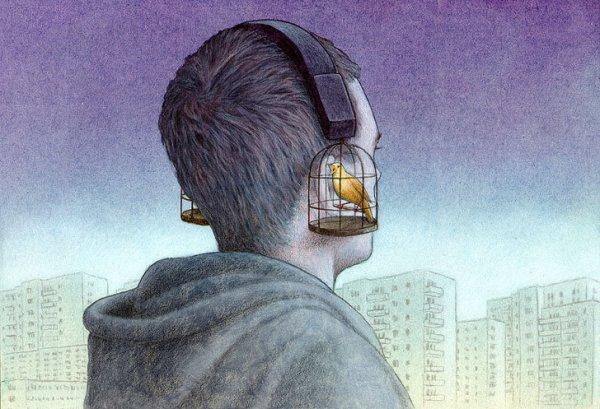 Злободневные иллюстрации об изнанке нашего мира от польского карикатуриста