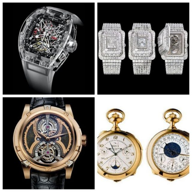 Самые дорогие часы в мире (5 фото)