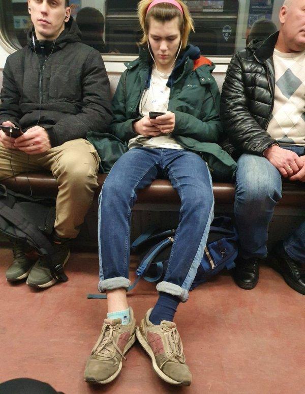Модники и чудаки из метрополитена