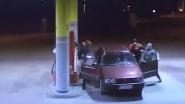 неудачный угон автомобиля