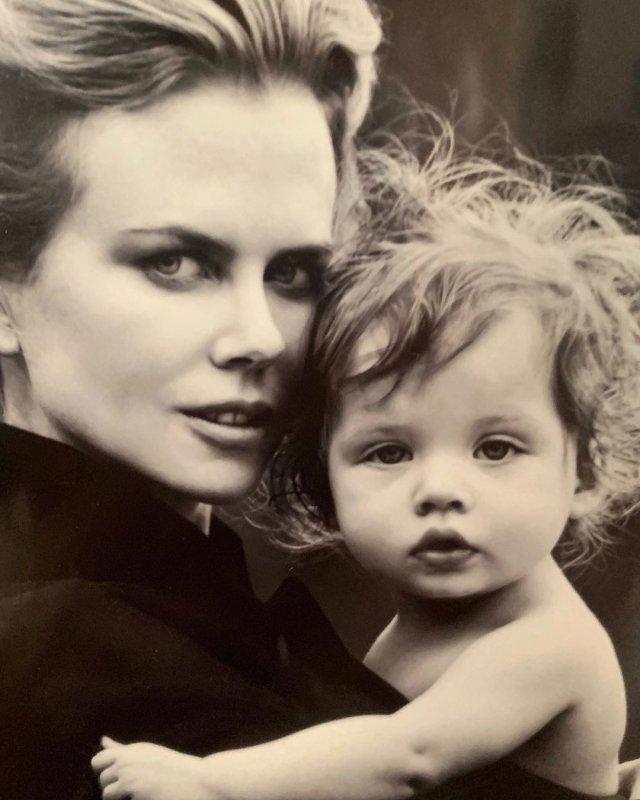 Николь Кидман с дочерью