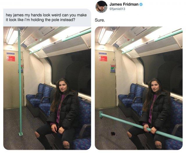 Джеймс Фридман - мастер фотошопа