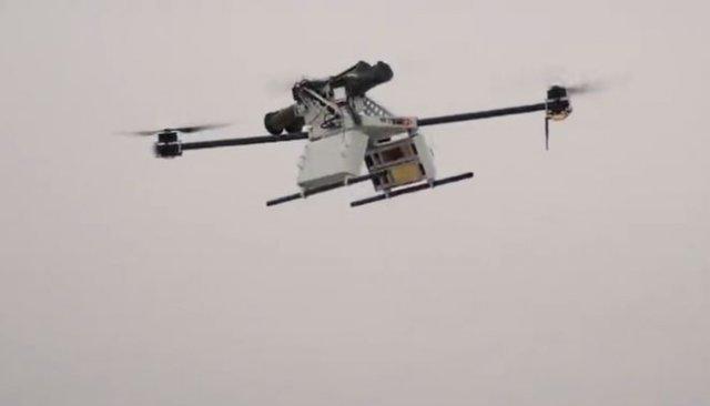 Белорусы прицепили РПГ-26 к квадрокоптеру