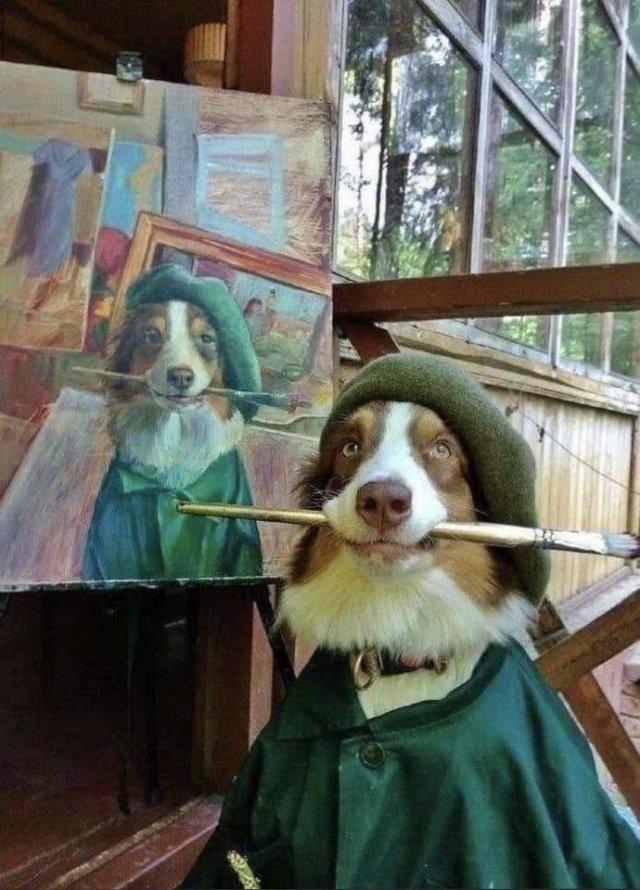 Хороший мальчик художник