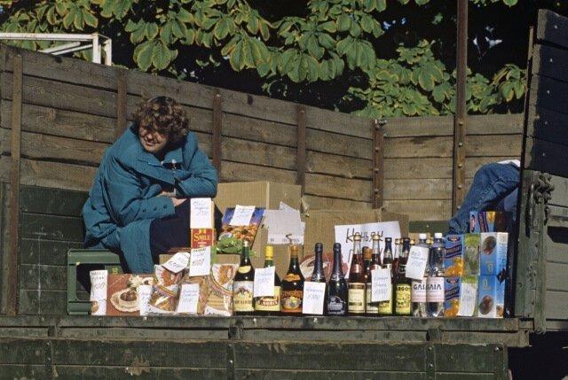 Продажа алкоголя прямо из кузова