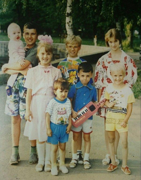 Лето, детство, 1992 год