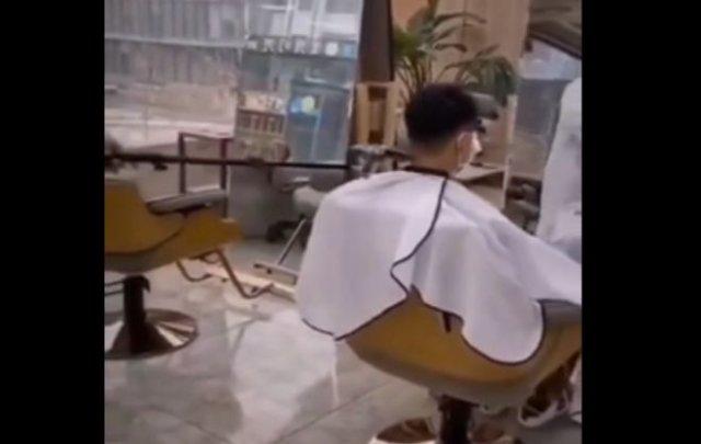 Как люди сейчас стригутся в Китае