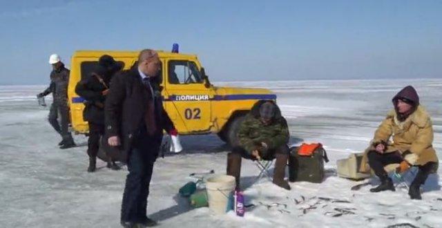 Виталий Наливкин запретил выходить на лед