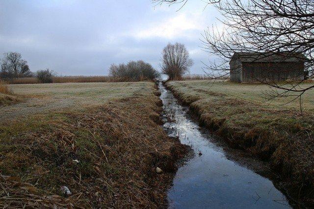 Вакансия дня: вычерпыватель воды из траншеи