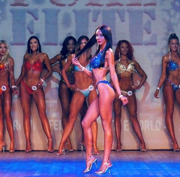 Ребекка Алдам на соревнованиях