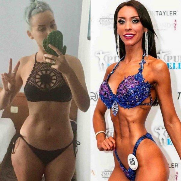 Ребекка Алдам: до и после