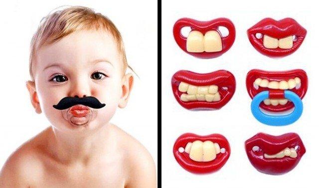 Соска для детей, у которых нет еще зубов